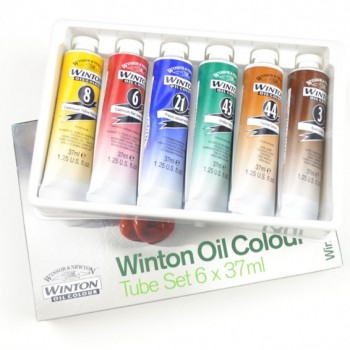 Winsor & Newton Winton Oil Color Starter Set 6pcs X 21ml